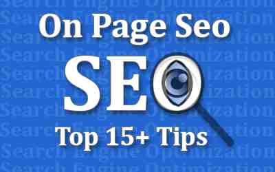 Amazing On-Page SEO Services For Beginner Blogger